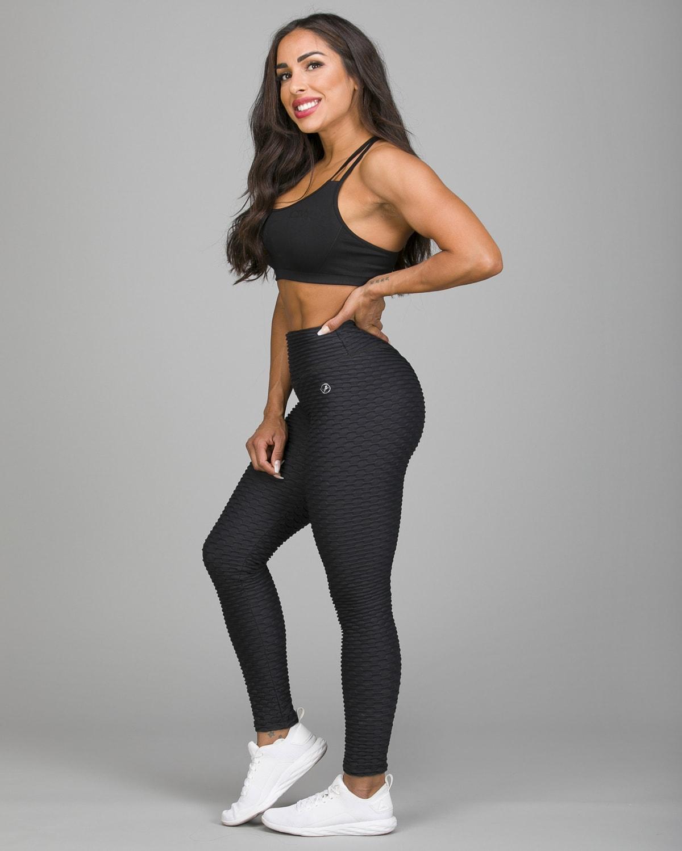 ABS2B Fitness Black Zero Flaw High Rise Leggings7
