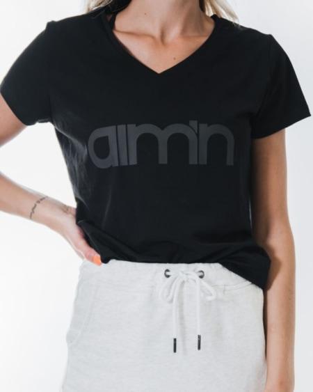 Aim'n Black Logo T-Shirt 2.0 18070001