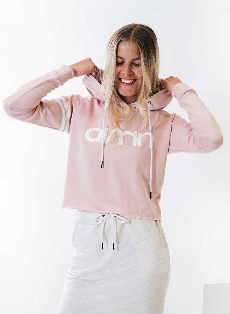 Aim'n Pink Crop Hoodie 18050003 c