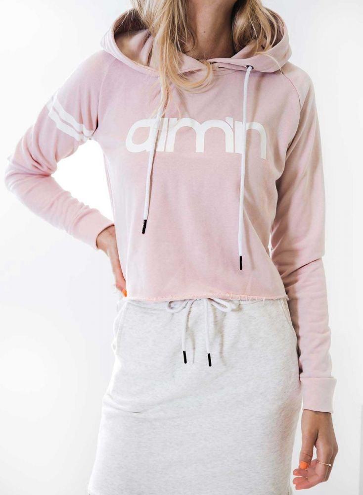 Aim'n Pink Crop Hoodie 18050003