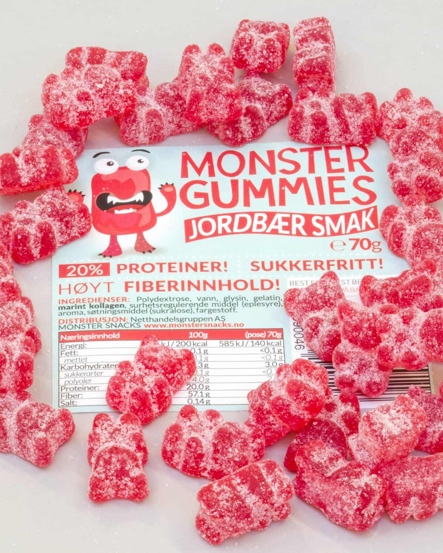 Monster Gummi Bears a