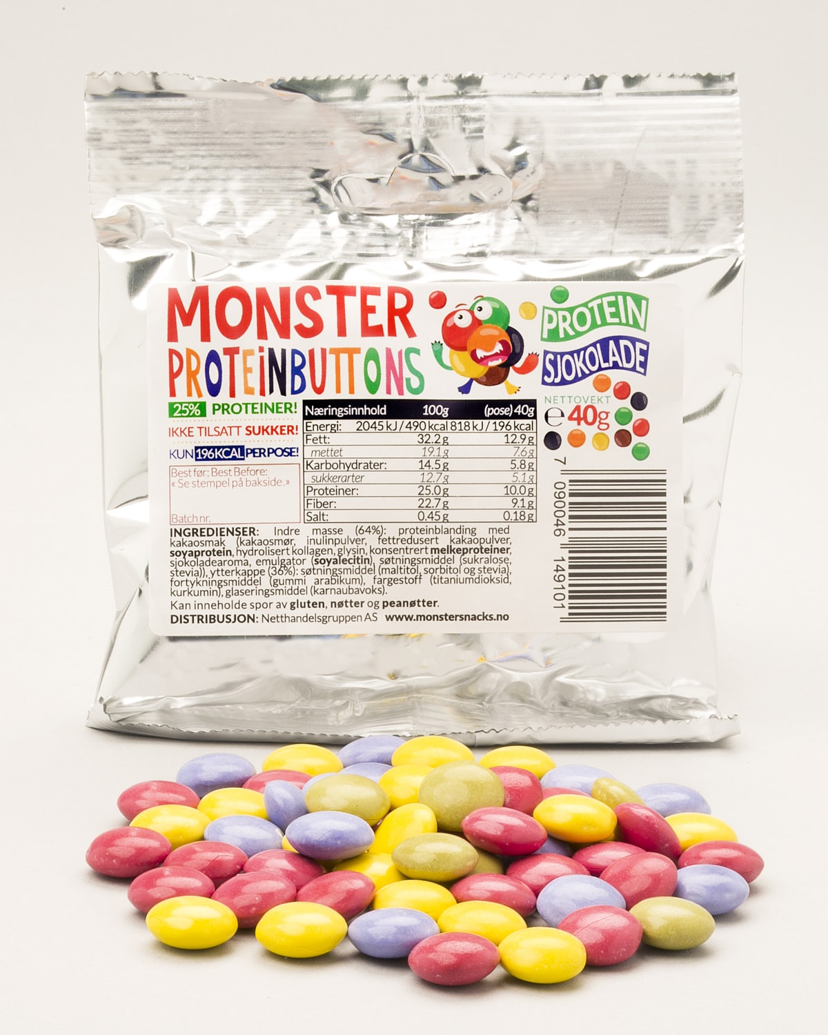 Monster protein buttons c