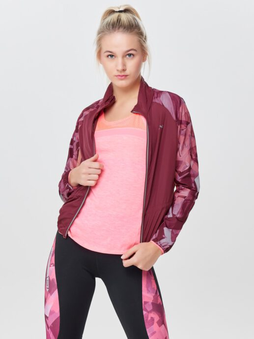 Only Play Dayo Run Jacket 15154477 – Rhododenron