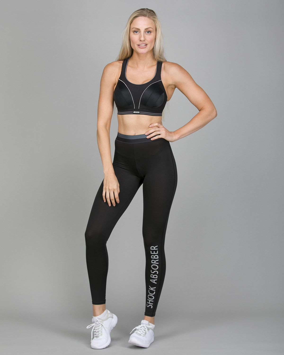 Shock Absorber Active Branded Legging S06TE and Ultimate Run Bra S5044