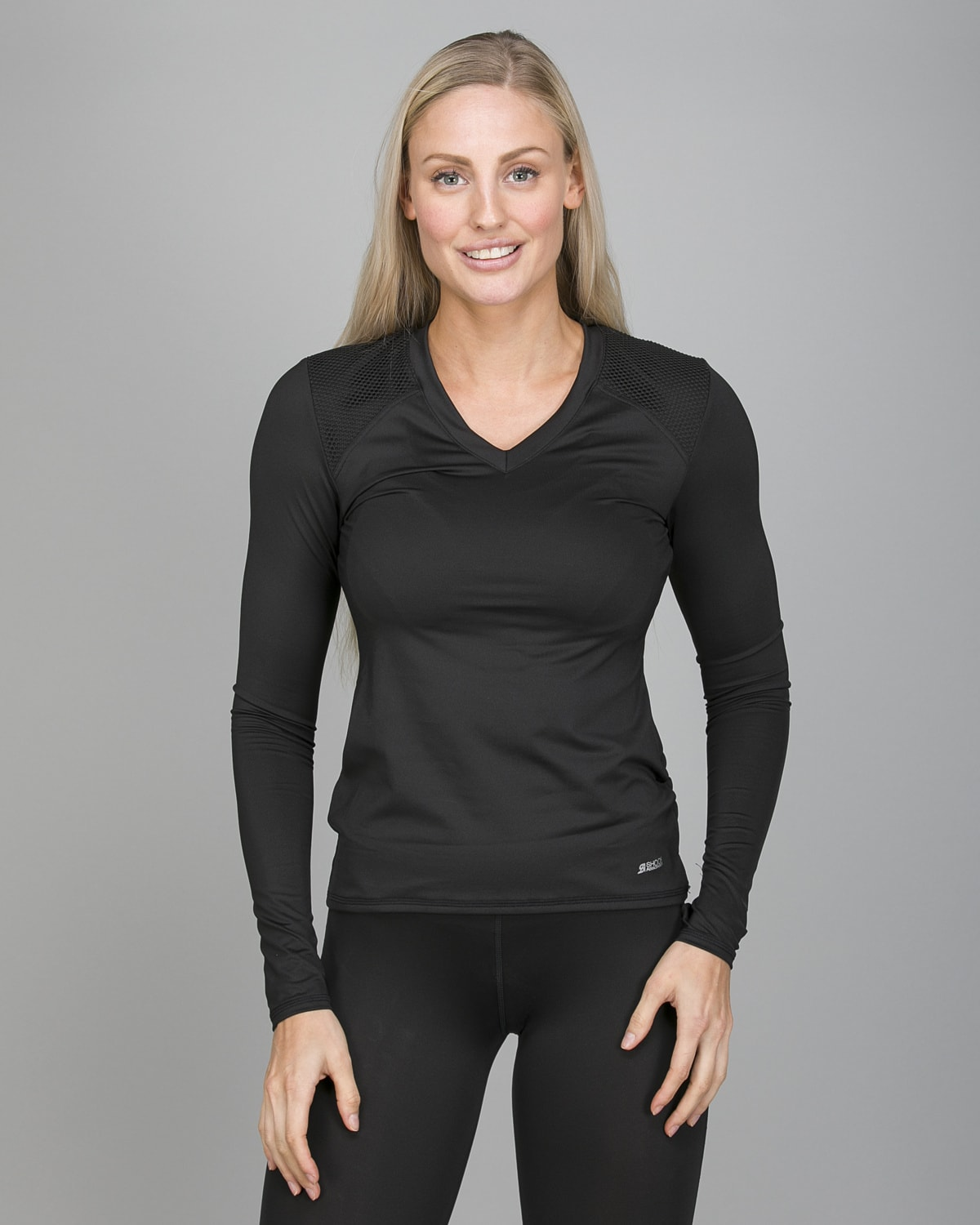 Shock Absorber Active Branded Long Sleeve S06S8 b