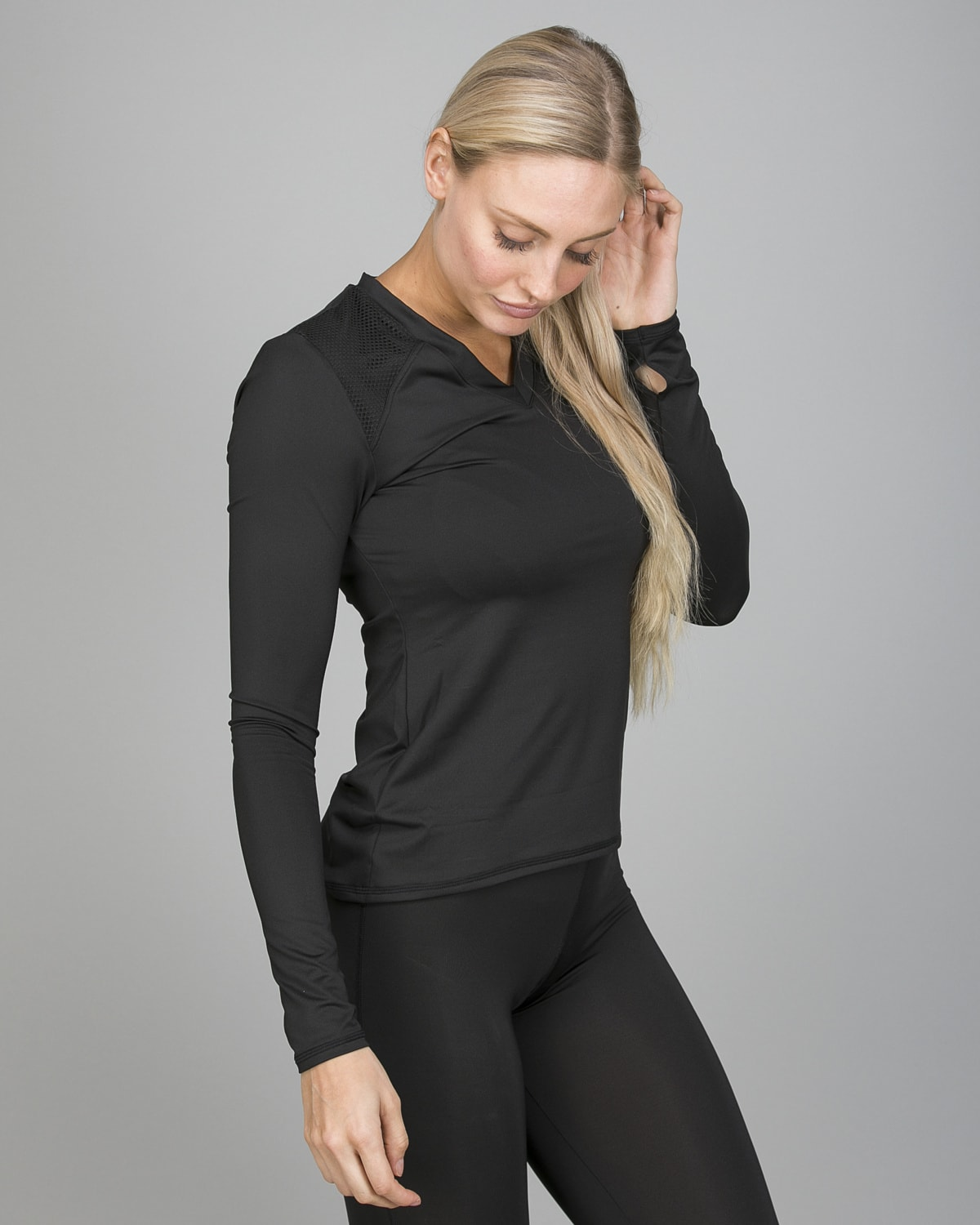 Shock Absorber Active Branded Long Sleeve S06S8 e