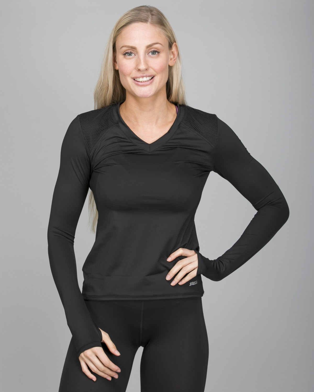 Shock Absorber Active Branded Long Sleeve S06S8 f