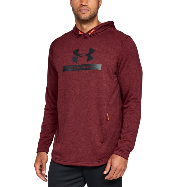 Under Armour MK1 Terry Graphic Hoodie 1320666-600 b