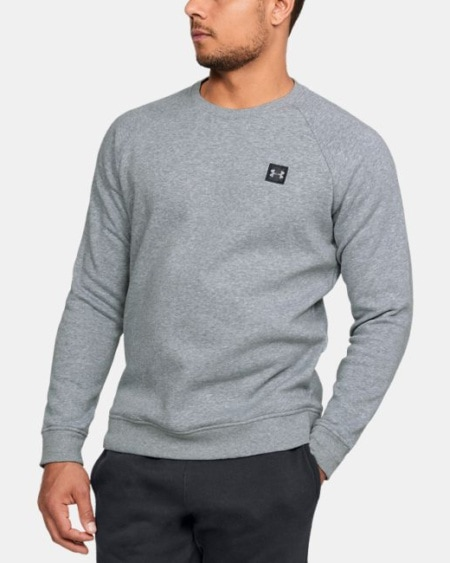 Under Armour Rival Fleece Crew 1320738-036_FC_Main