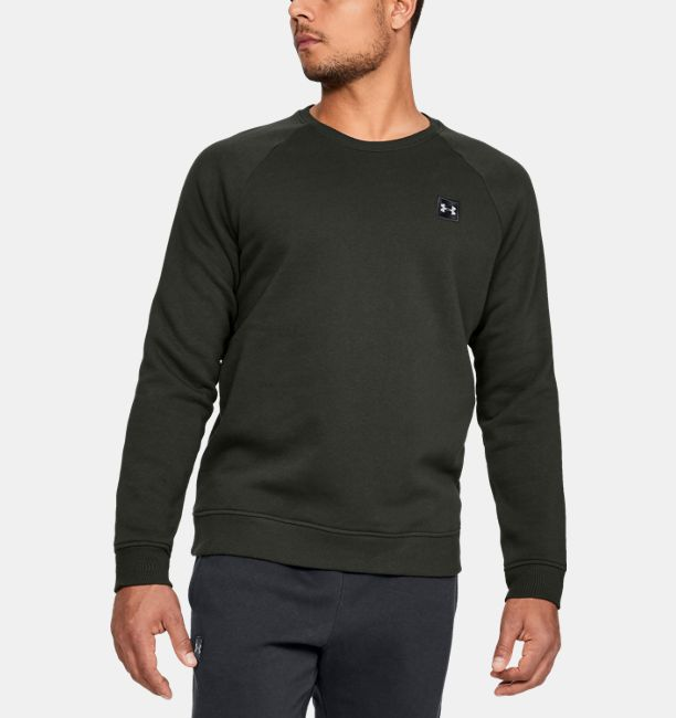 Under Armour Rival Fleece Crew 1320738-357_FC_Main