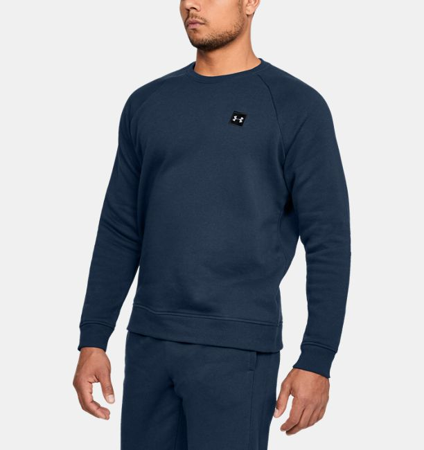 Under Armour Rival Fleece Crew 1320738-408_FC_Main