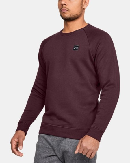 Under Armour Rival Fleece Crew 1320738-600_FC_Main