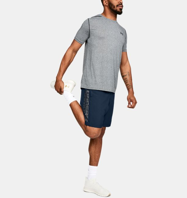 Under Armour Wordmark Short 1320203-408_FSF