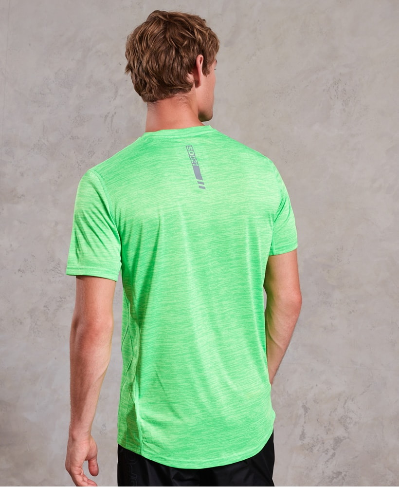 82f470c8 Superdry Active Training Short Sleeve Tee - Fluro Green - Tights.no