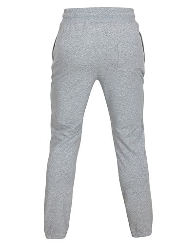 38-507 Tufte Unisex Sweatpants Grey Melange Medium Back