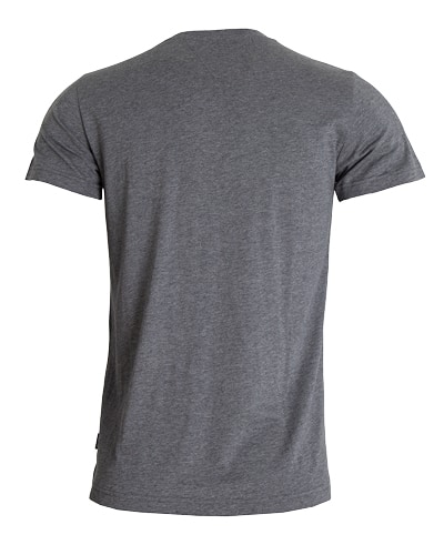 38-645 Tufte Men Summer Tee Grey Melange Medium Back