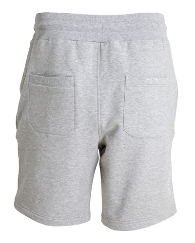 39-351 Tufte Unisex Sweatshorts Grey Melange Small Back