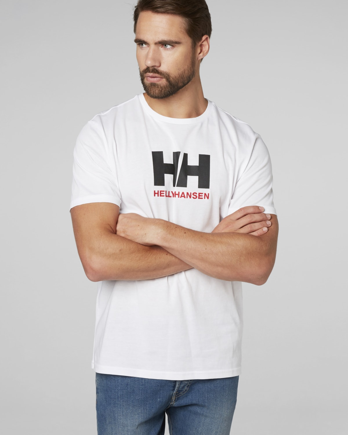 Helly Hansen Logo T-Shirt 33979_001_onbody1