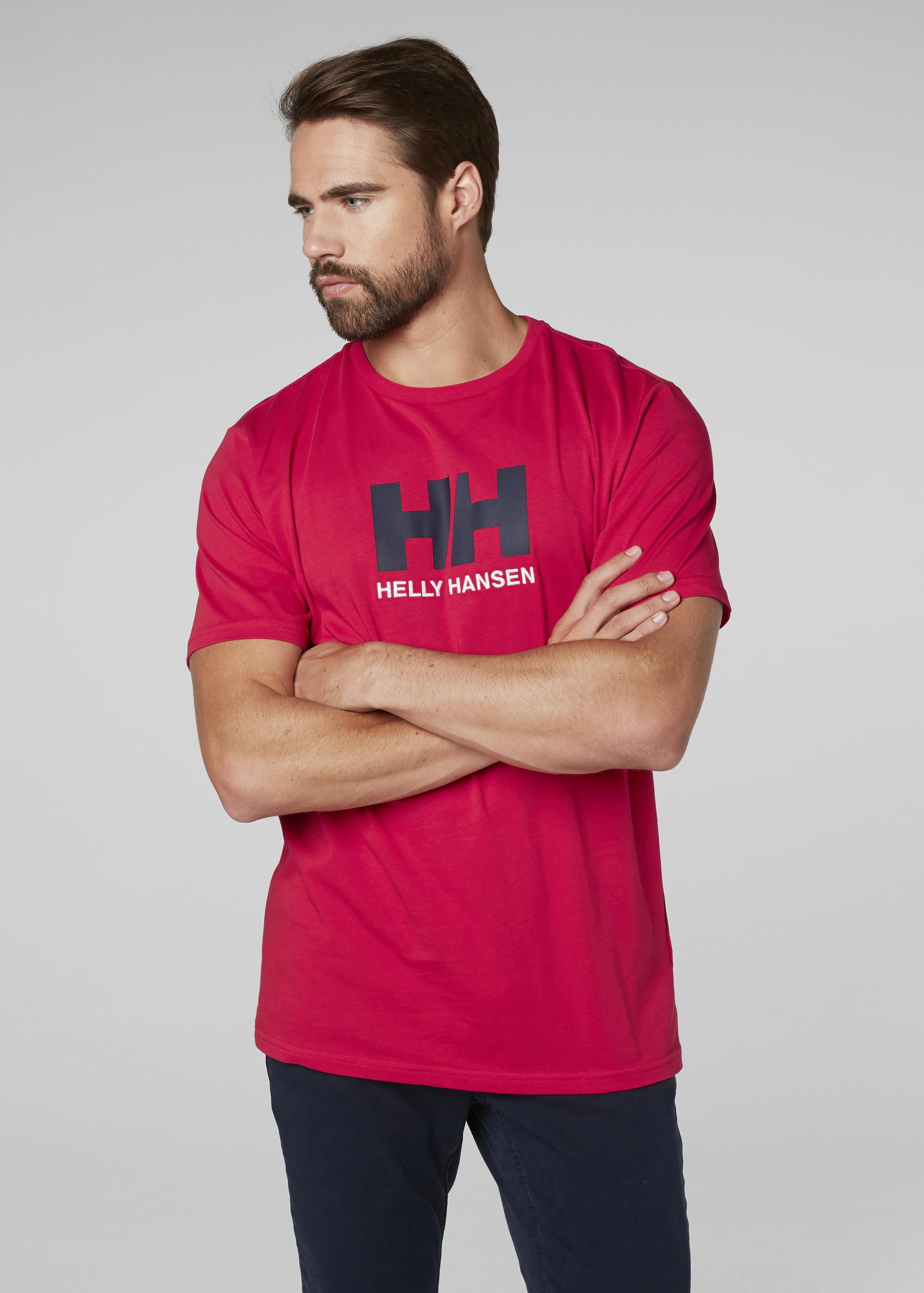 Helly Hansen Logo T-Shirt 33979_162_onbody1