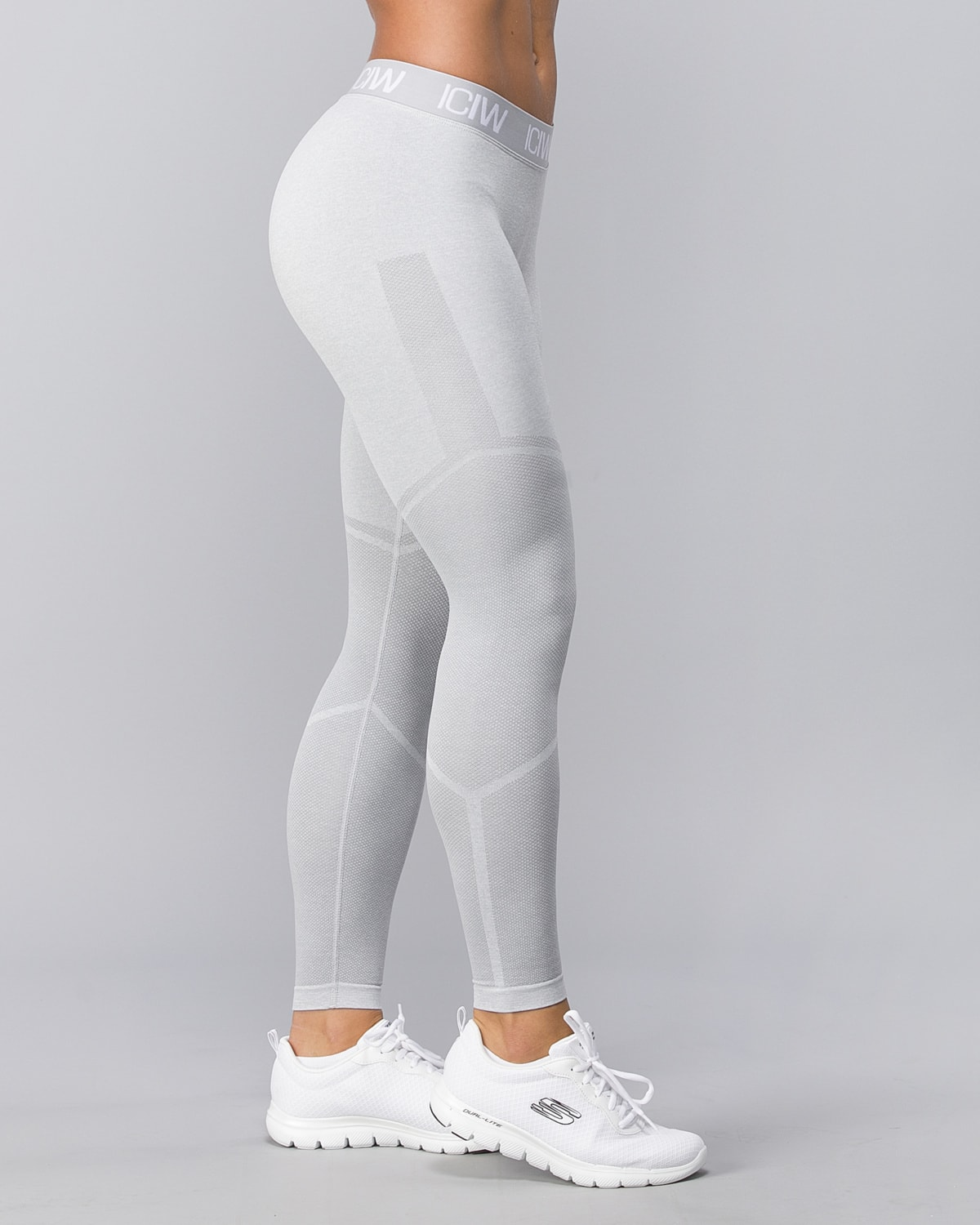 Icaniwill-Seamless Tights–Light Grey1