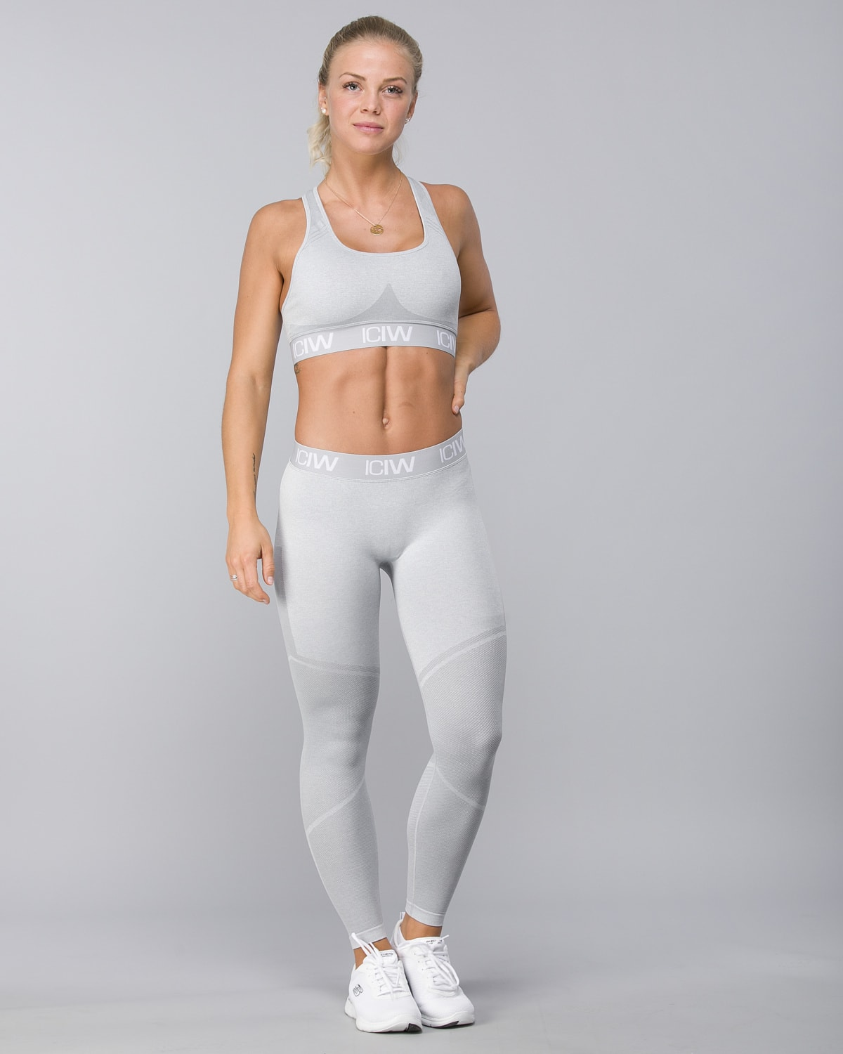 Icaniwill-Seamless Tights–Light Grey5