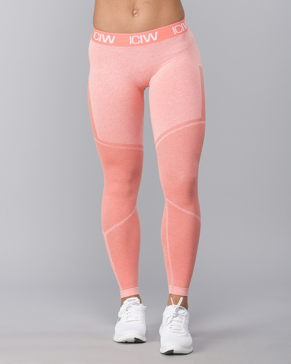 Icaniwill-Seamless Tights–Peach