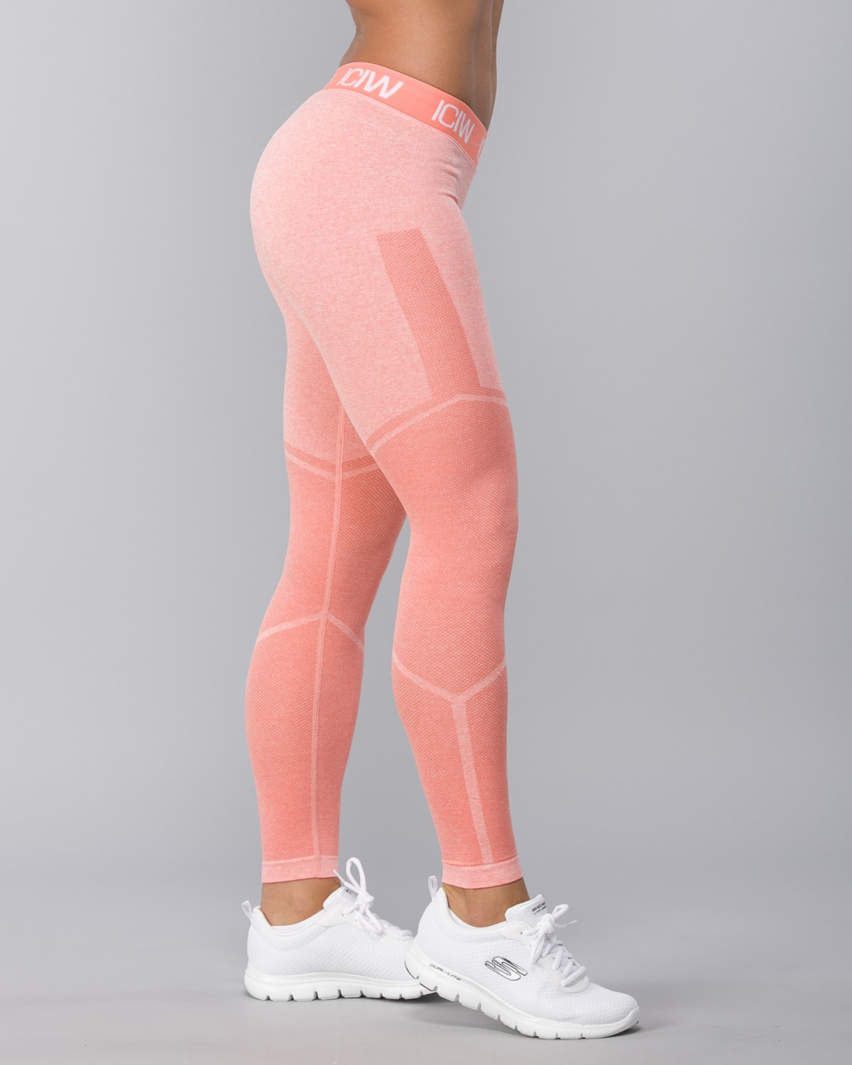 Icaniwill-Seamless Tights–Peach2