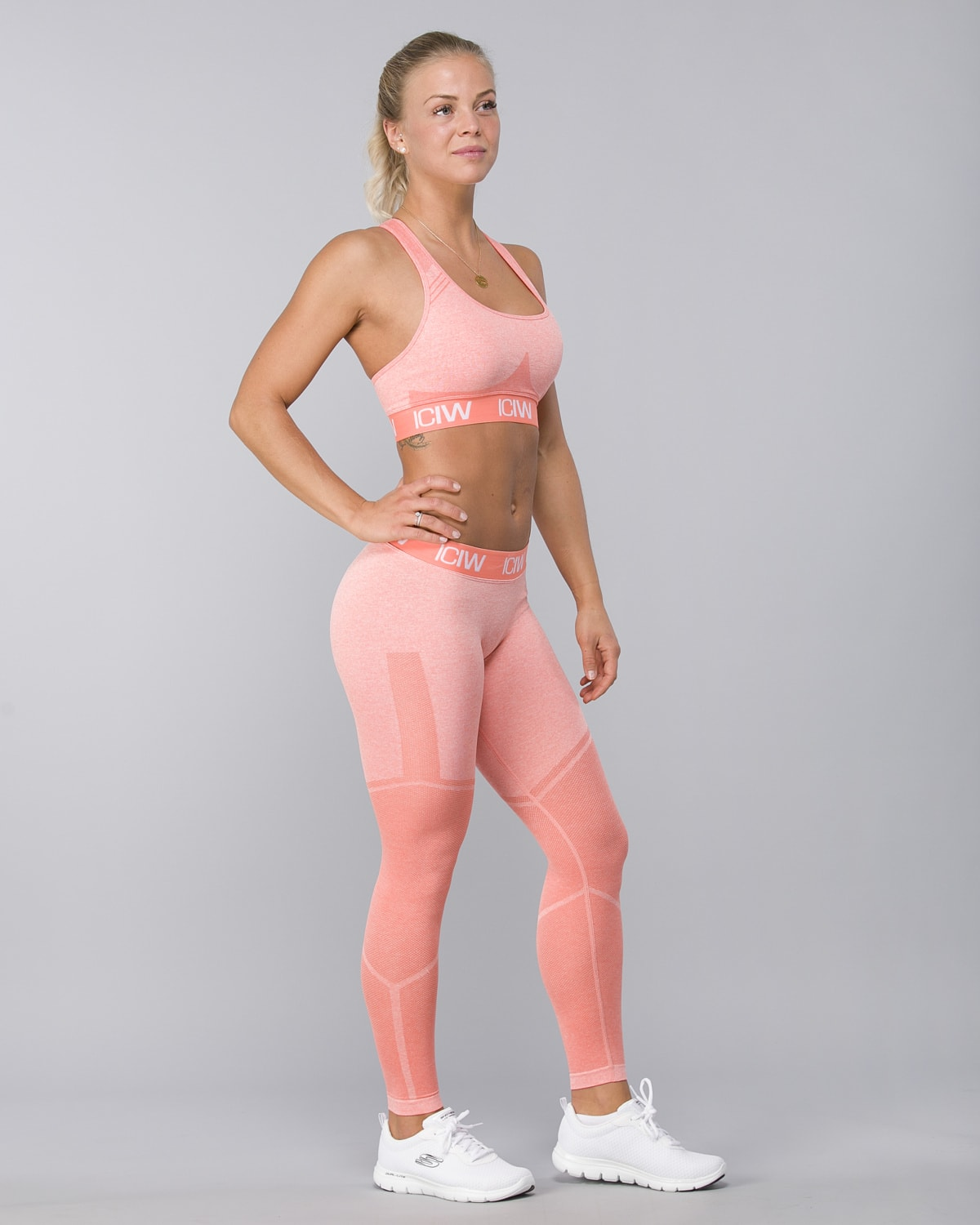 Icaniwill-Seamless Tights–Peach6