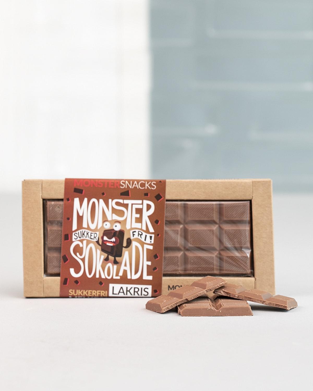 Monster Lakris Sjokolade