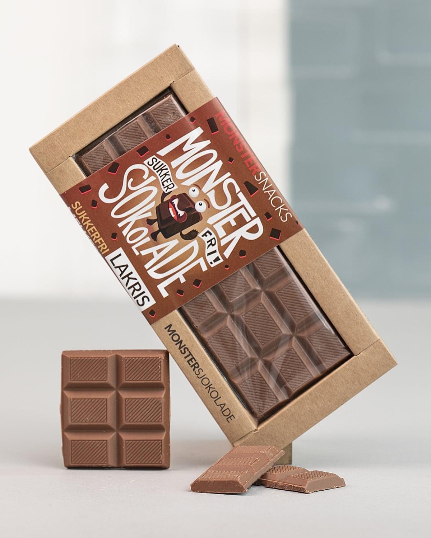 Monster Lakris Sjokolade a