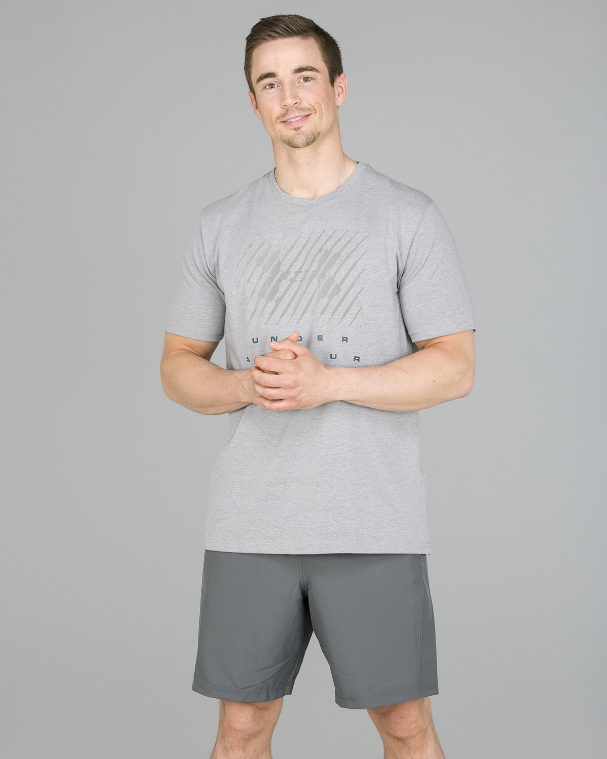 Under Armour Branded BL Tee, Steel1