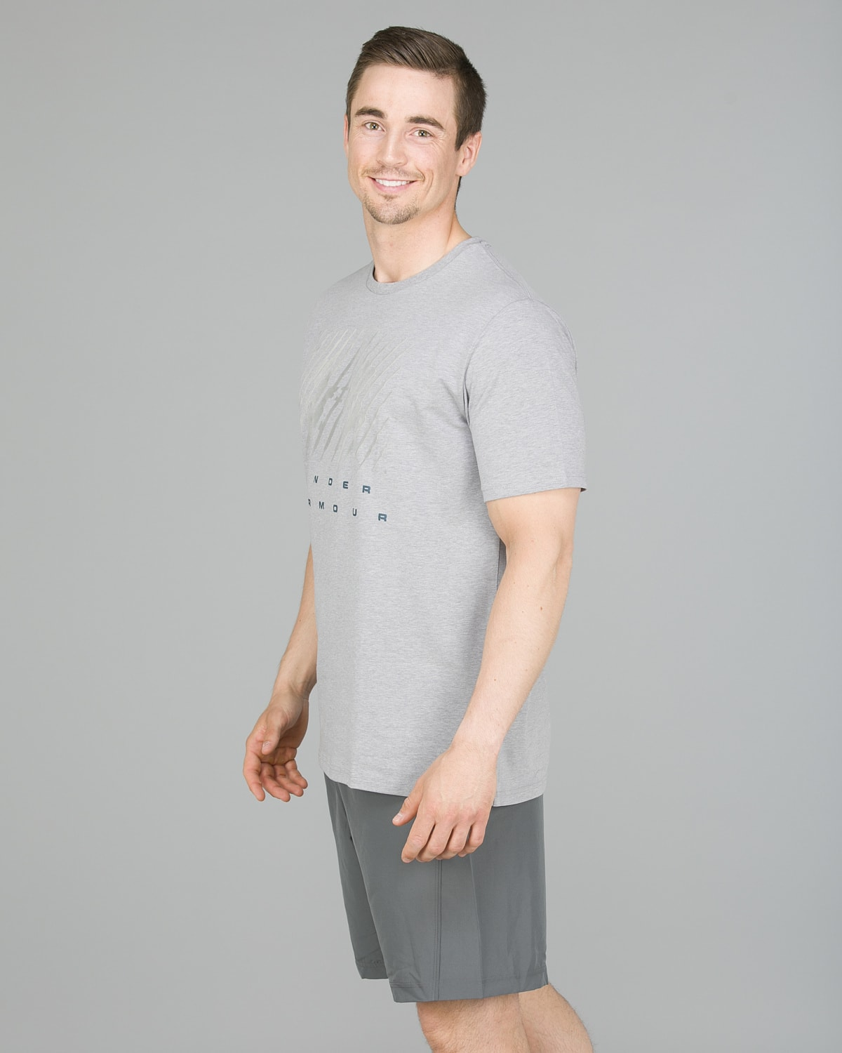Under Armour Branded BL Tee, Steel2