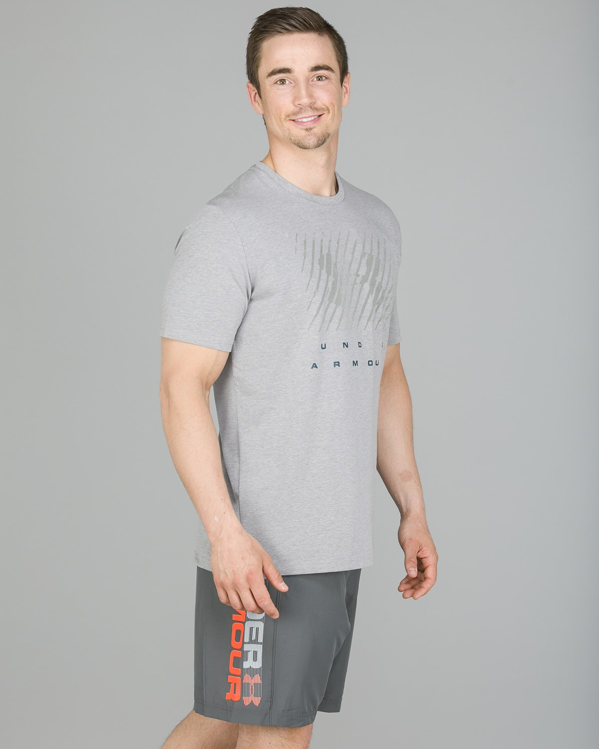 Under Armour Branded BL Tee, Steel4