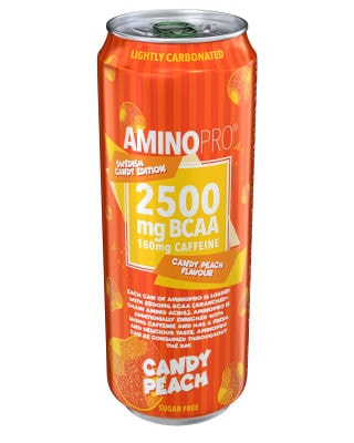 Candy Edition Peach Candy 330ml - GODTERISMAK!