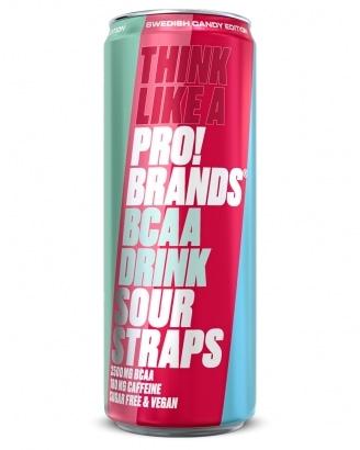Amino Pro Candy Edition Sour Straps 330ml - GODTERISMAK!