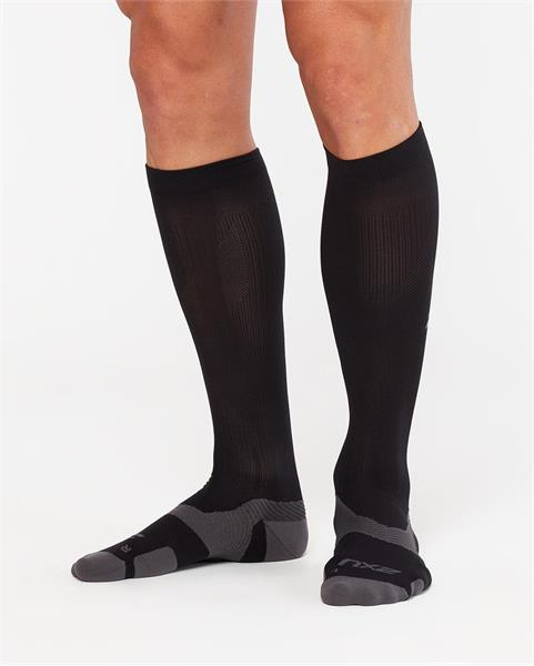 2XU VECTR Compression Socks – Black:Titanium
