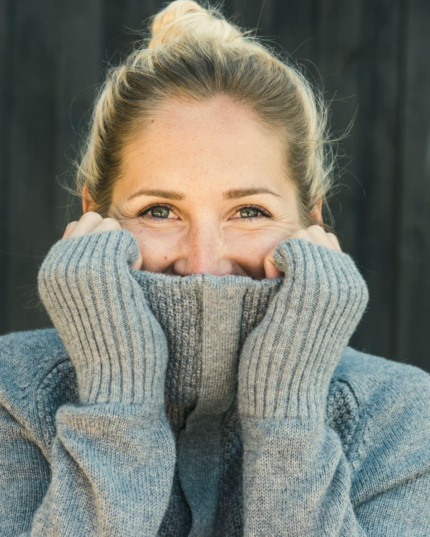 AW17 Tufte Bambull Blend Sweater GreyMelange Adult 04_vegg