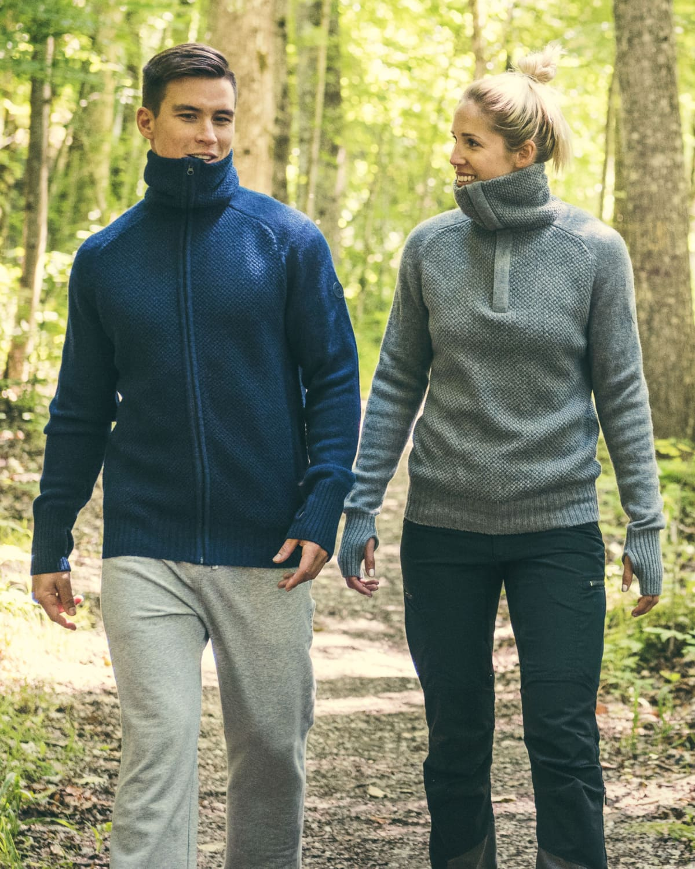 AW17 Tufte Bambull Blend Sweater & Jacket Unisex