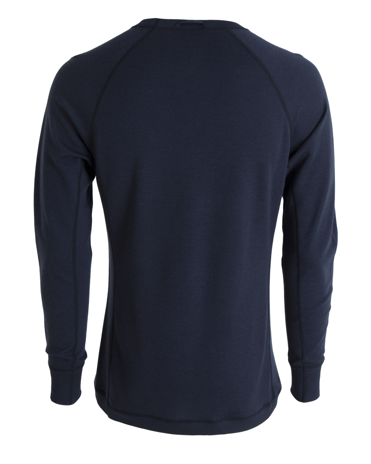 AW18 Tufte Bambull Crew Neck Men Blueberry Back