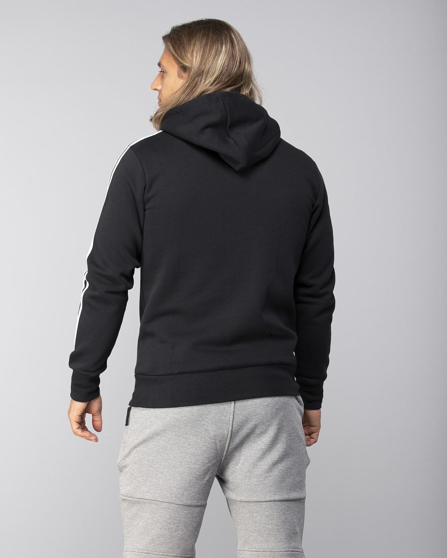 Adidas-Classics-3S-Pullover-Fleece–Black-White2