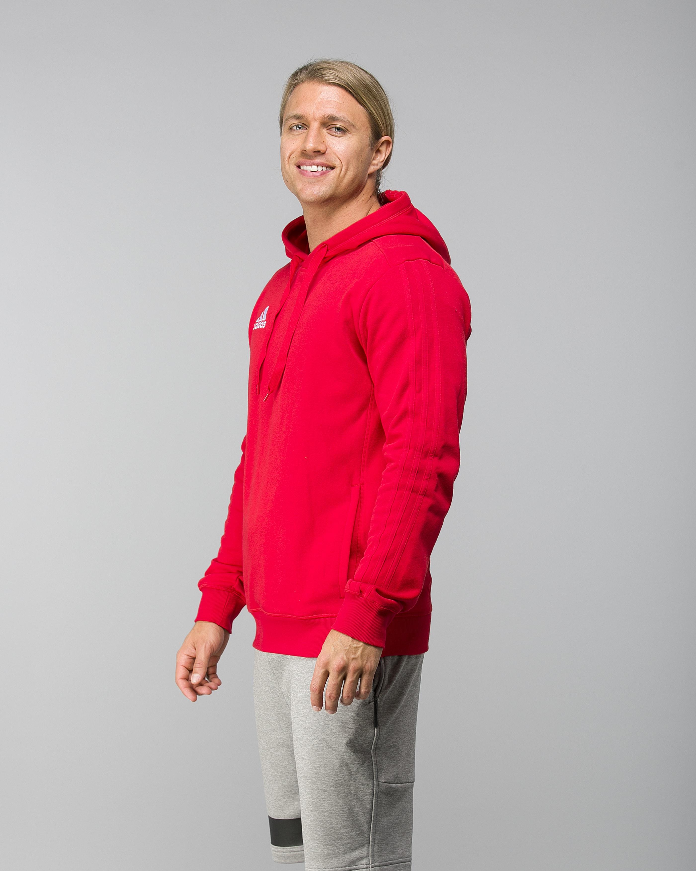 Adidas Tiro17 Hoody Scarlet RedWhite Tights.no