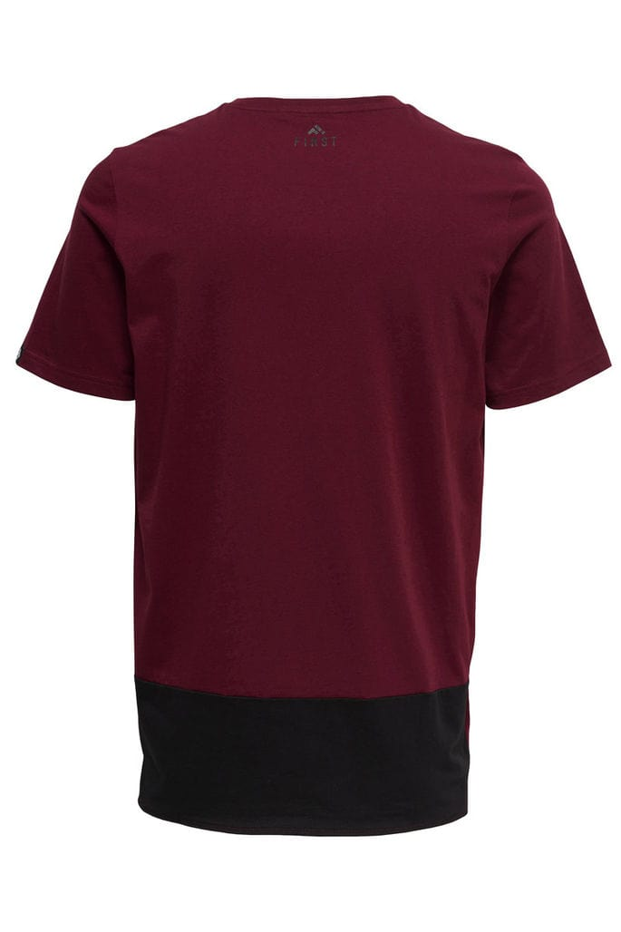 First Ray Loose Tee 15154276-Cabernet b