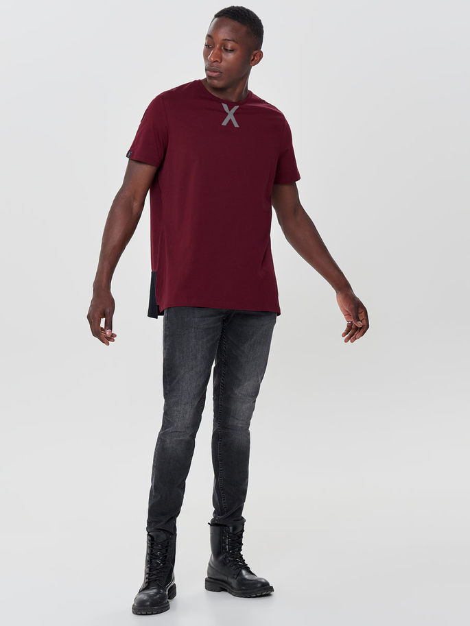 First Ray Loose Tee 15154276-Cabernet e