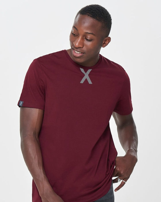 First Ray Loose Tee 15154276-Cabernet main