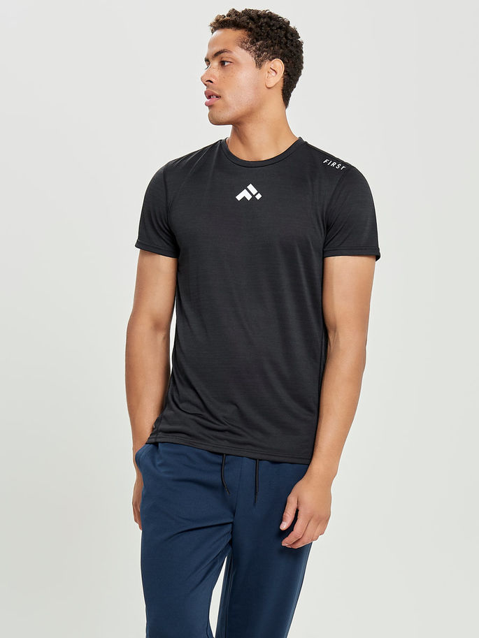First Stay Training Tee 15161899_Black c