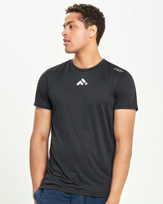 First Stay Training Tee 15161899_Black main