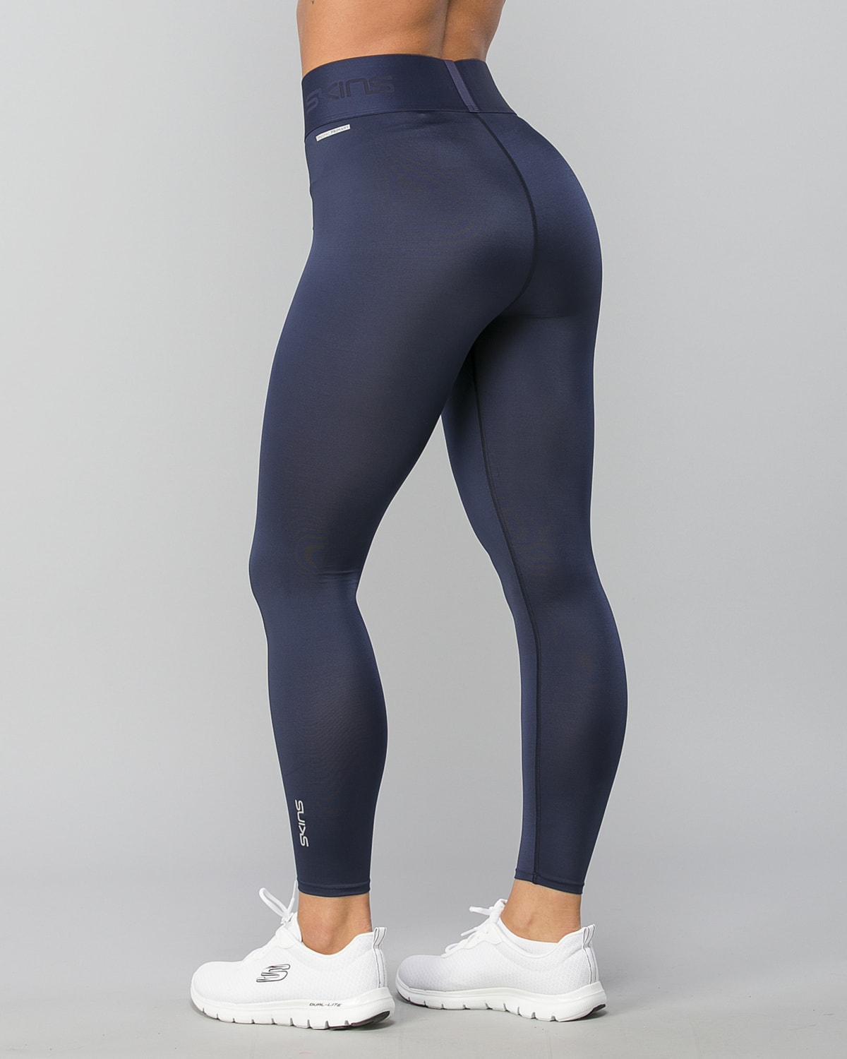 Skins-DNAmic-Primary-Womens-7-8-Tights-Navy-Blue