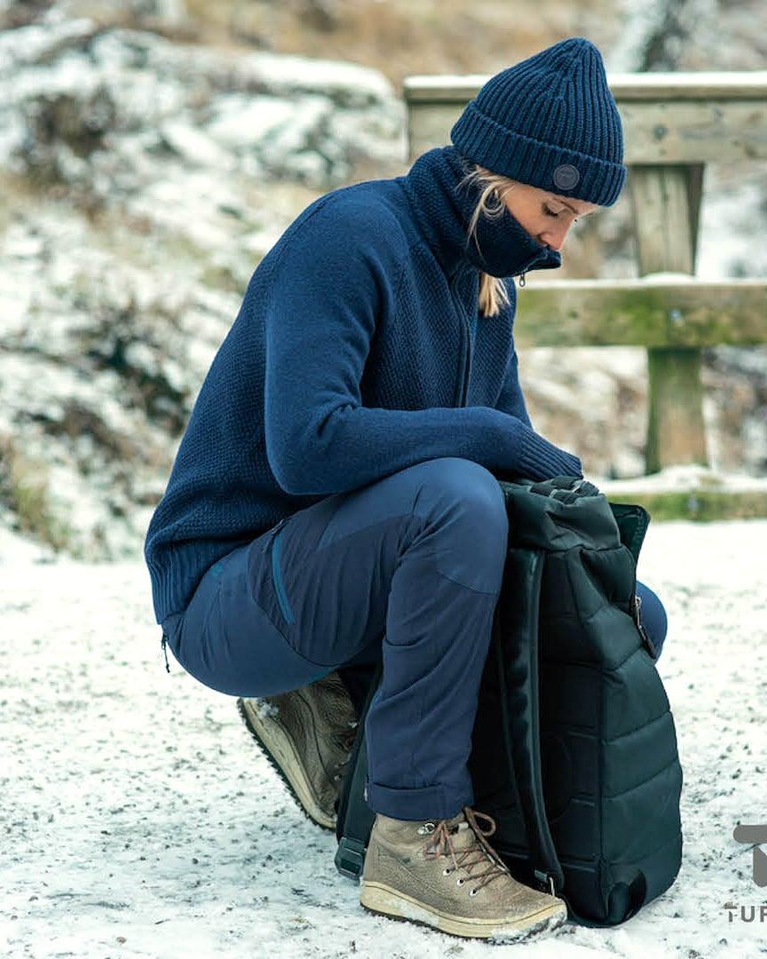 Tufte Bambull Blend Jacket – Insignia Blue