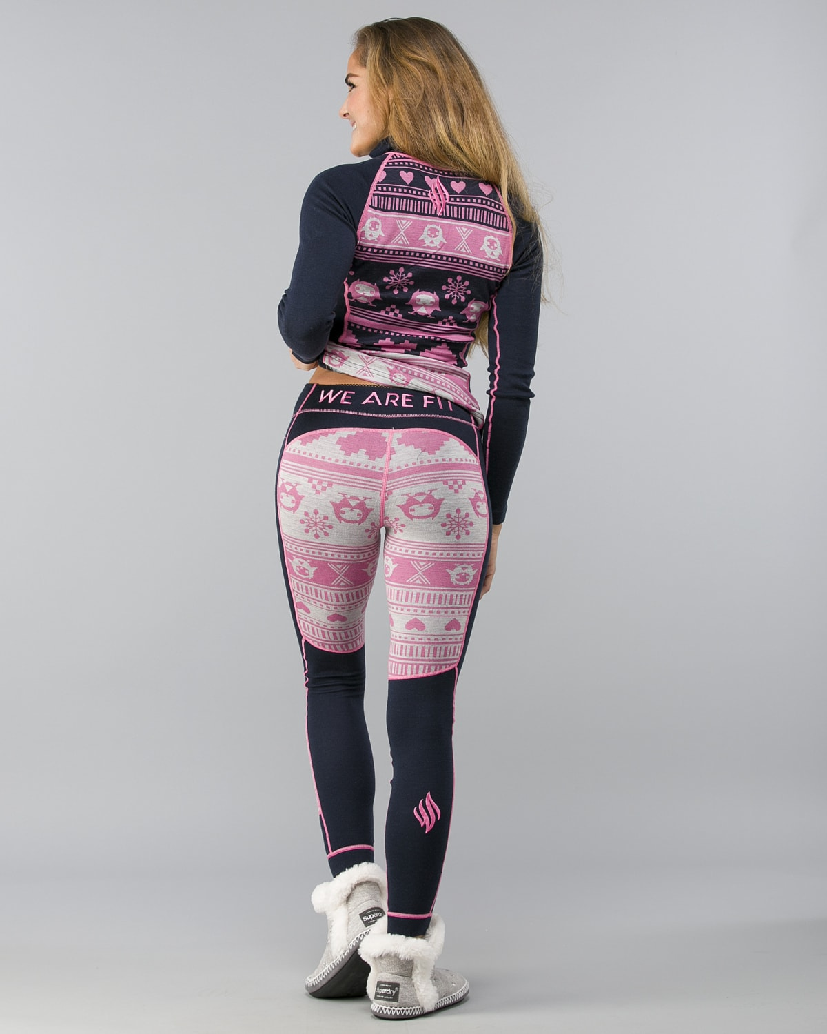 We-Are-Fit-Pink Owl-Merino-Wool Pant1