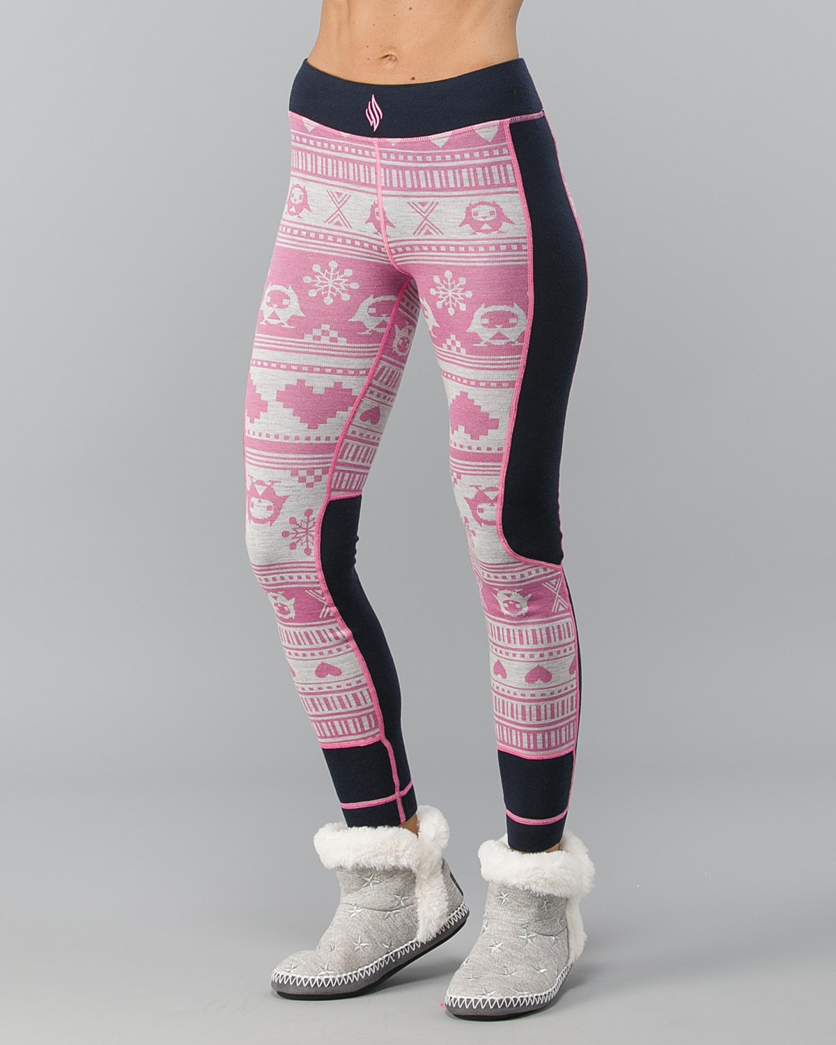 We-Are-Fit-Pink Owl-Merino-Wool Pant3